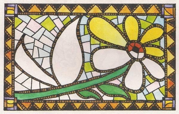 Цветов карандашом для начинающих